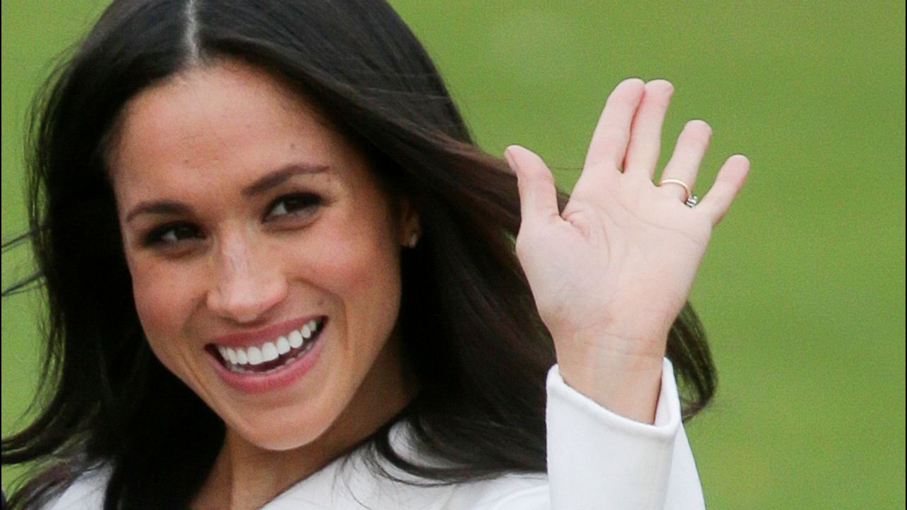 Una sonriente Meghan Markle supera su primer acto oficial.El principe Enrique de Dinamarca, en una imagen de archivo
