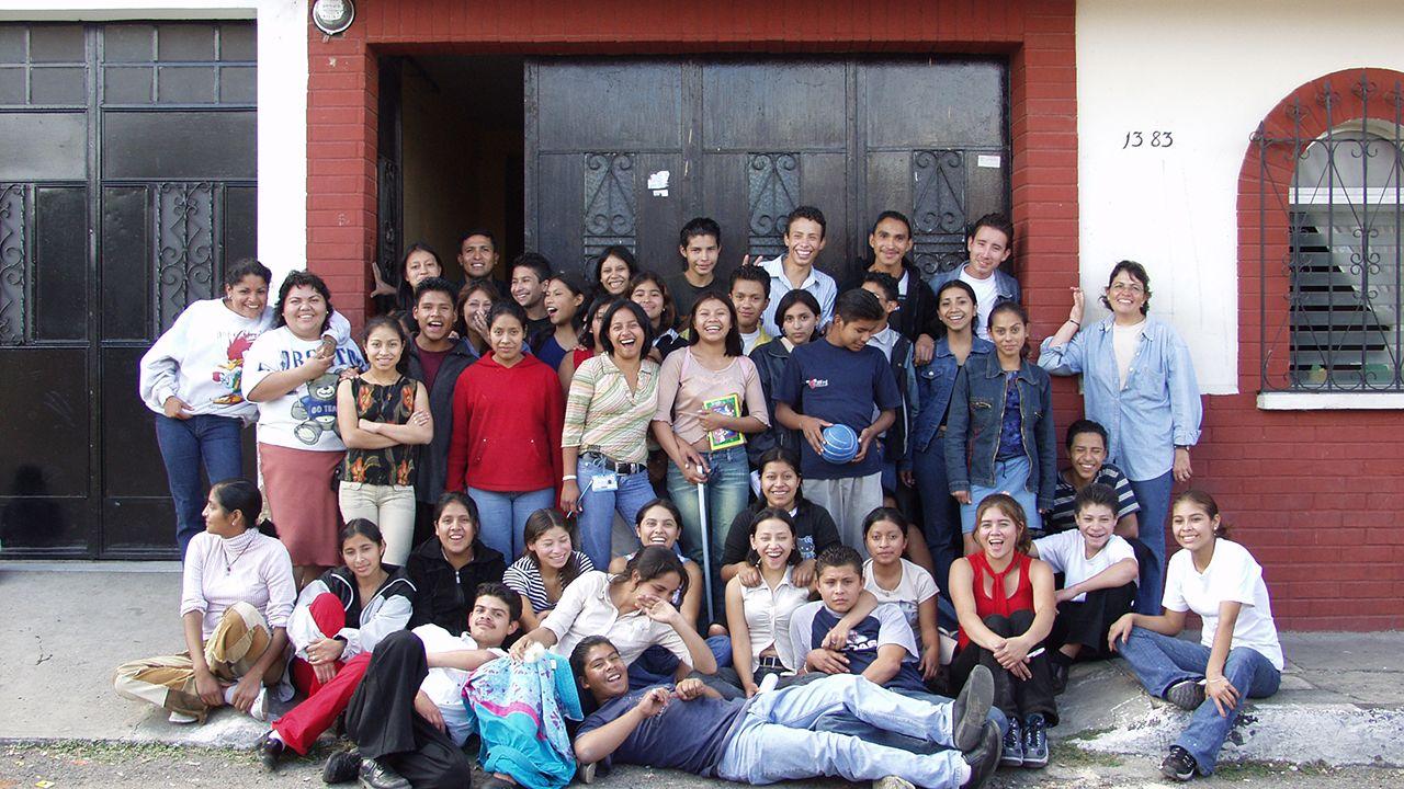 Jóvenes de Guatemala, de la asociación asturiana Seronda