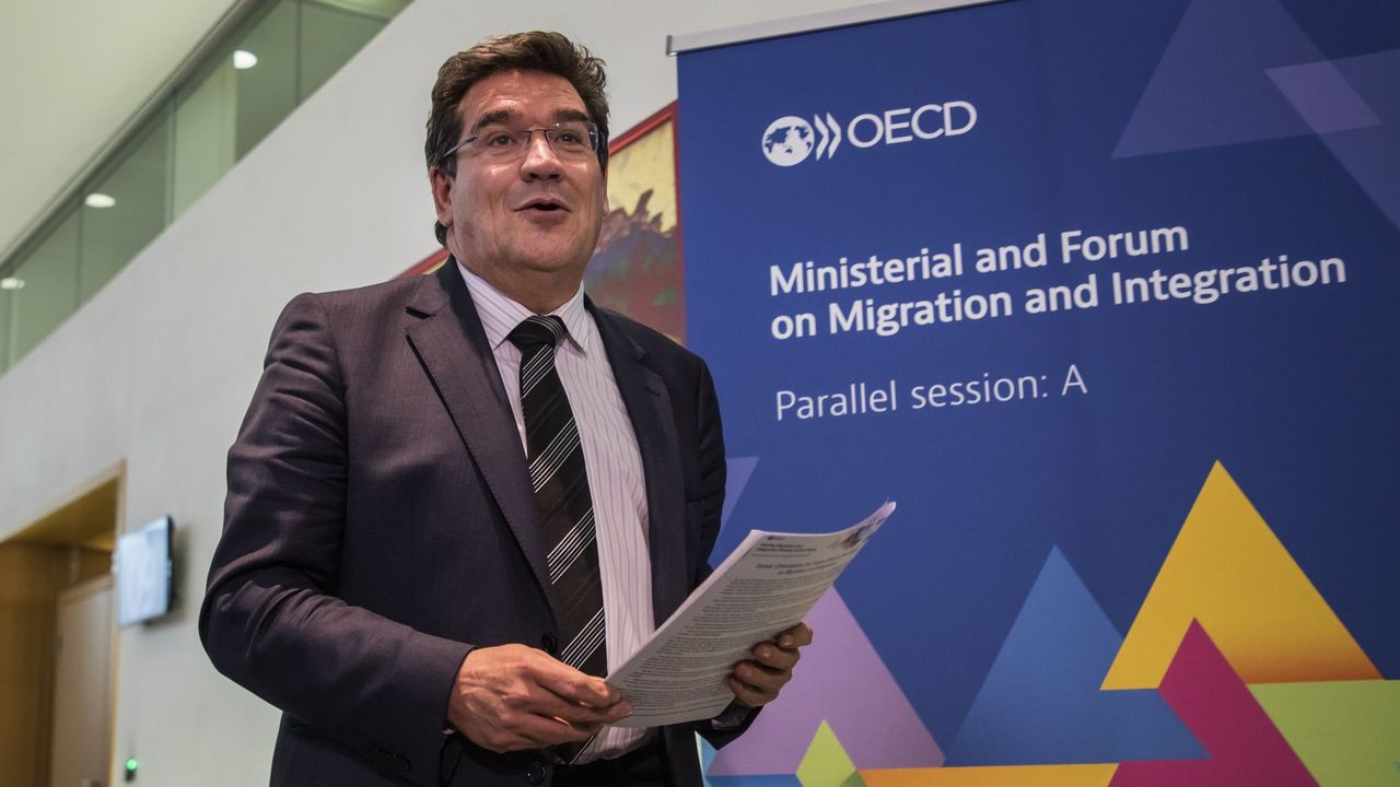 El ministro José Luis Escrivá