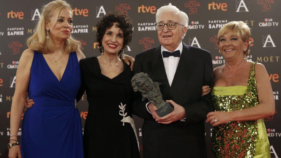 Entrega del Goya de Honor a Mariano Ozores
