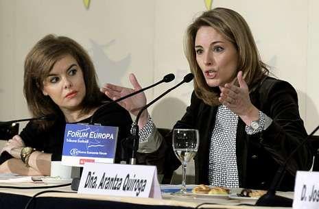 Arantza Quiroga respondió a los críticos que el partido sigue aunque alguien se vaya.