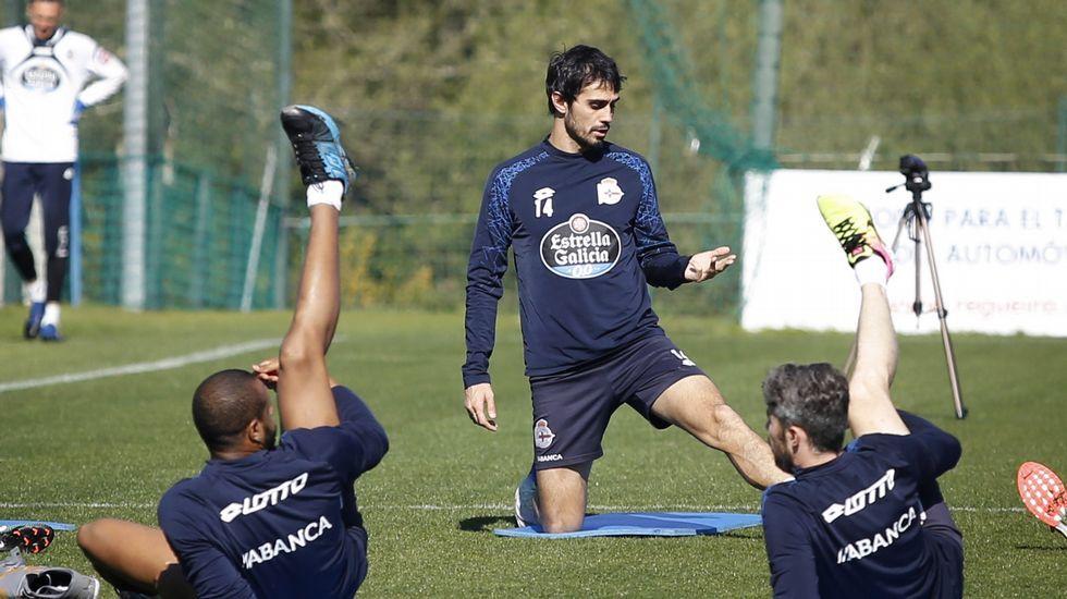 Las fotos del Deportivo - Málaga