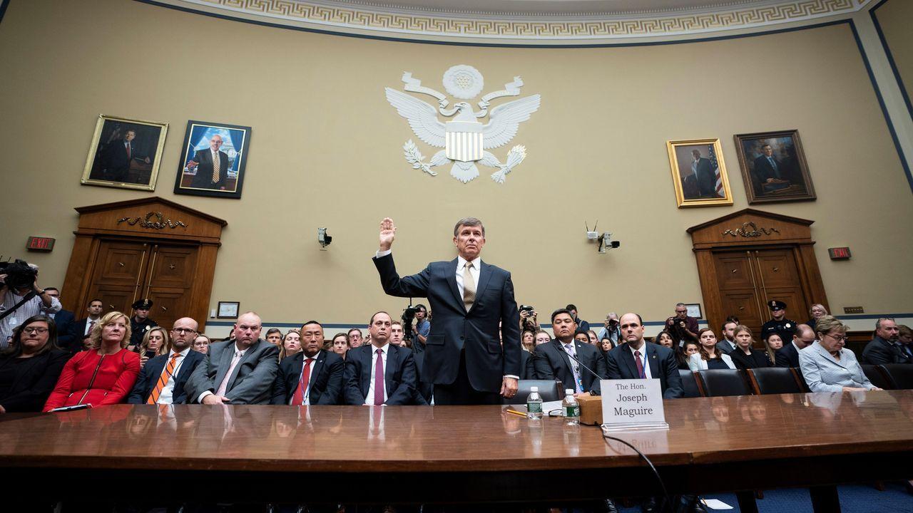 El director en funciones de la Inteligencia Nacional de EE.UU., Joseph Maguire, testificó este jueves ante un comité del Congreso