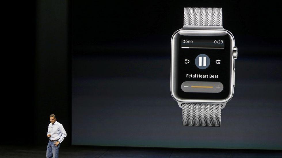 Apple presentó una aplicación para su reloj capaz de monitorizar al feto.