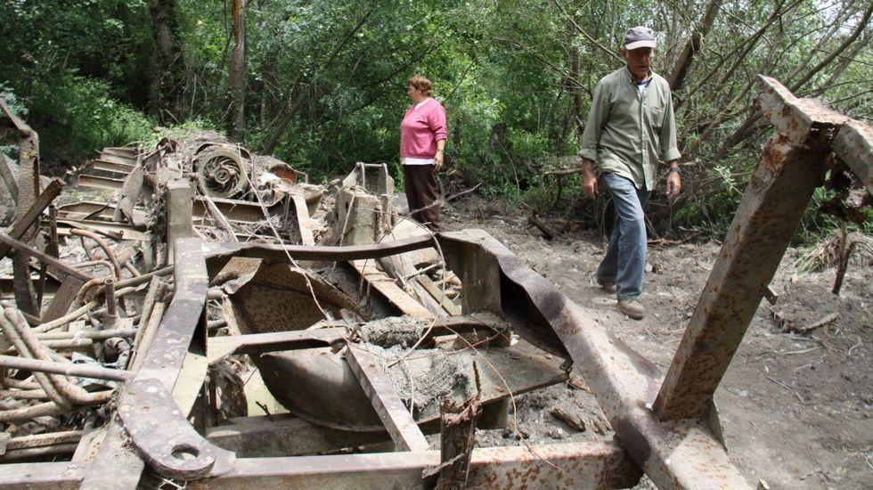 Los restos del autobús fueron retirados en 2012