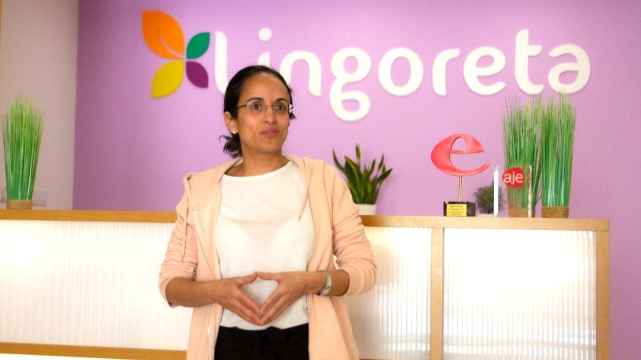 Sandra Fernández Prado, pedagoga del Centro Lingoreta de Pontevedra