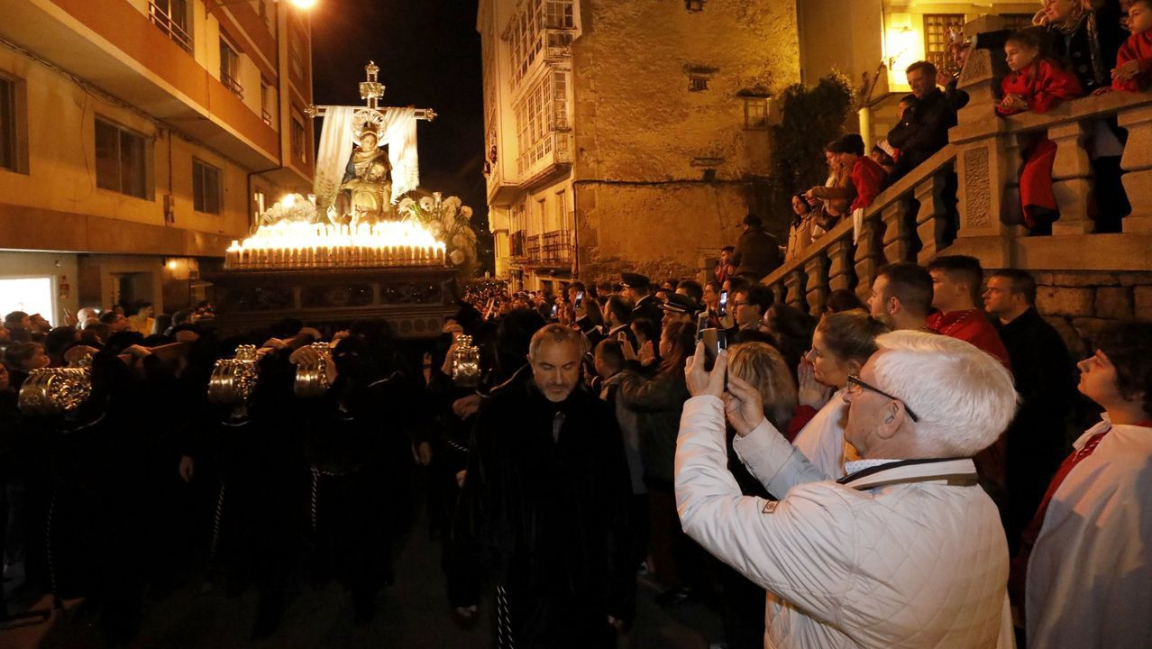 bautismo, bautizo, bautizar, Iglesia.Misa del domingo en la parroquia de Santa Baia de Mondariz emitida en directo por Instagram