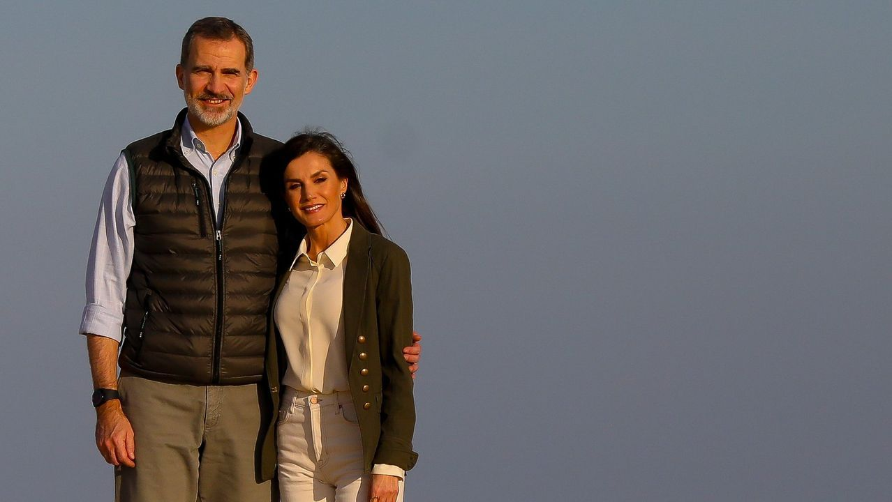 Año 2020. Los reyes visitan Doñana