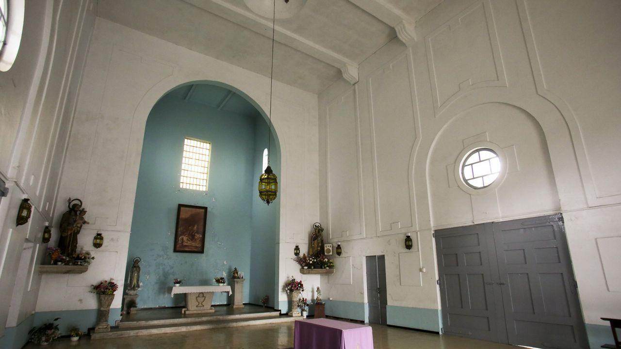 Imagen de la capilla de Catabois revisada por la inspección