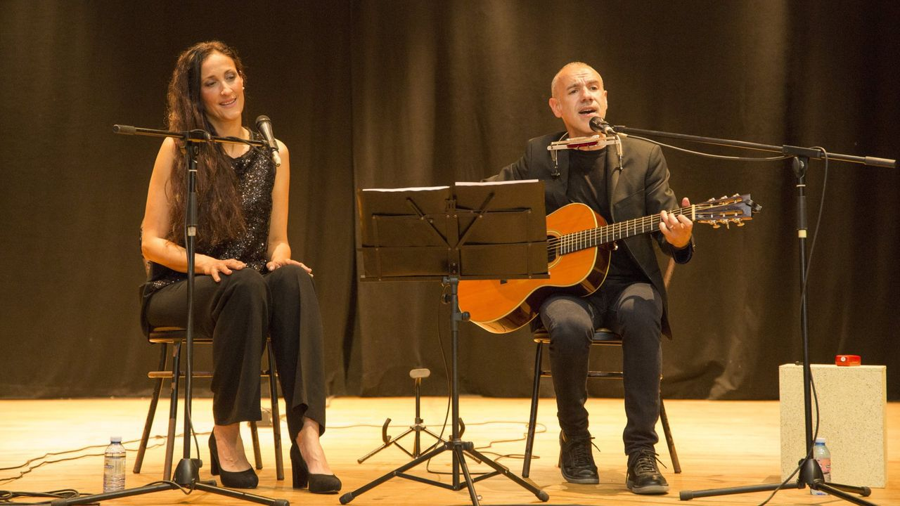 Rosa Cedrón e Emilio Rúa