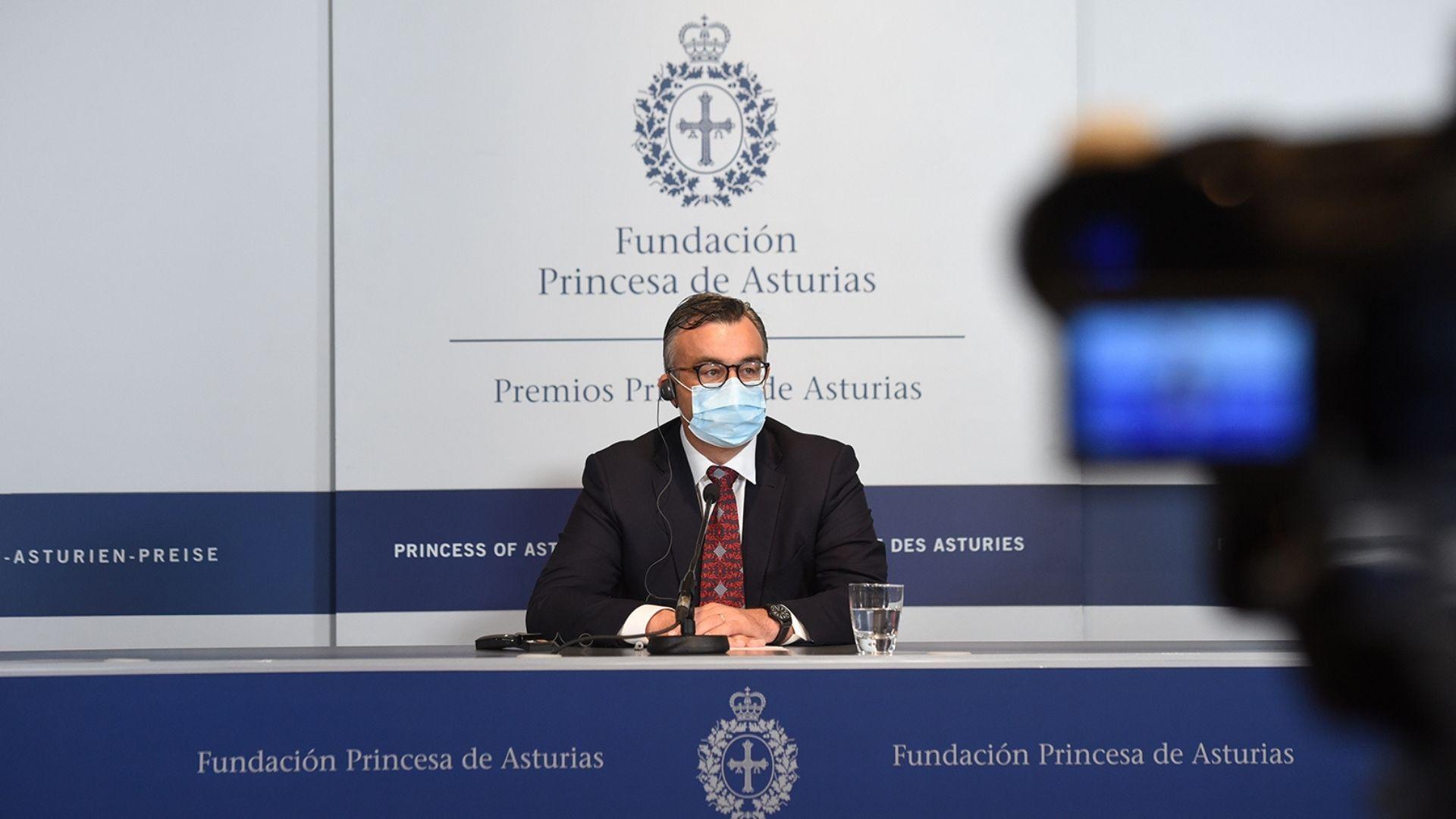Emmanuel Candès, Premio Princesa de Asturias de Investigación Científica y Técnica 2020
