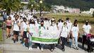 El grupo Un día para nosotras, en colaboración con Beiras de Viveiro, organizó este domingo la marcha solidaria