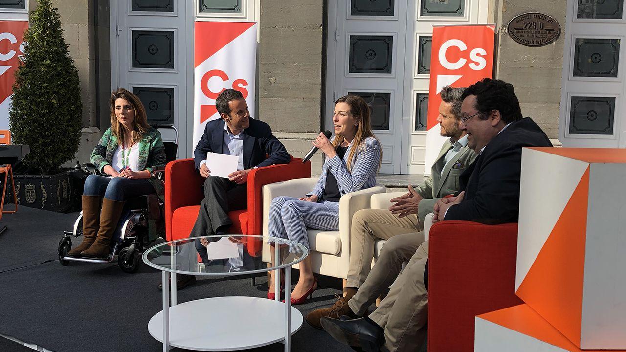 Presentación de la candidatura de Ciudadanos a la alcaldía de Oviedo