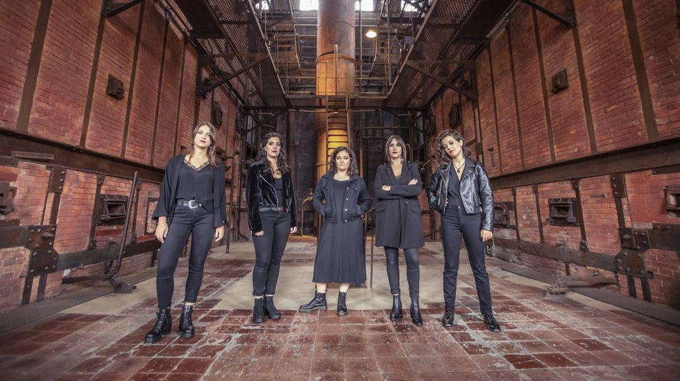 A Banda da Loba ofrece un concierto en Rábade