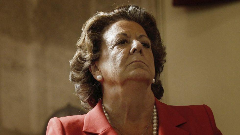 Rita Barberá a Isabel Bonig: «Cuidado con lo que decís recordad por qué estáis ahí»