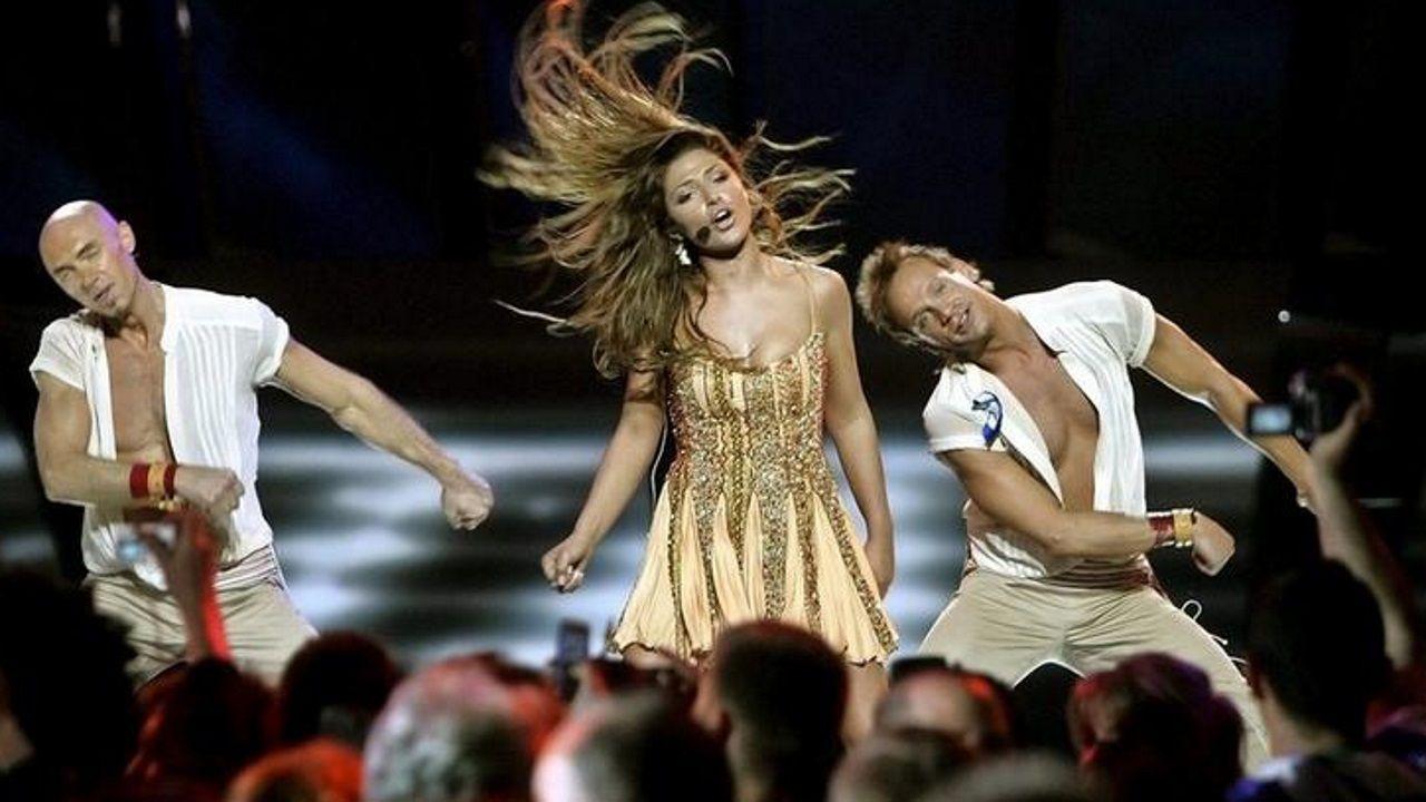 La griega Helena Paparizou ganó Eurovisión con el trabajo de Fokas Evangelinos