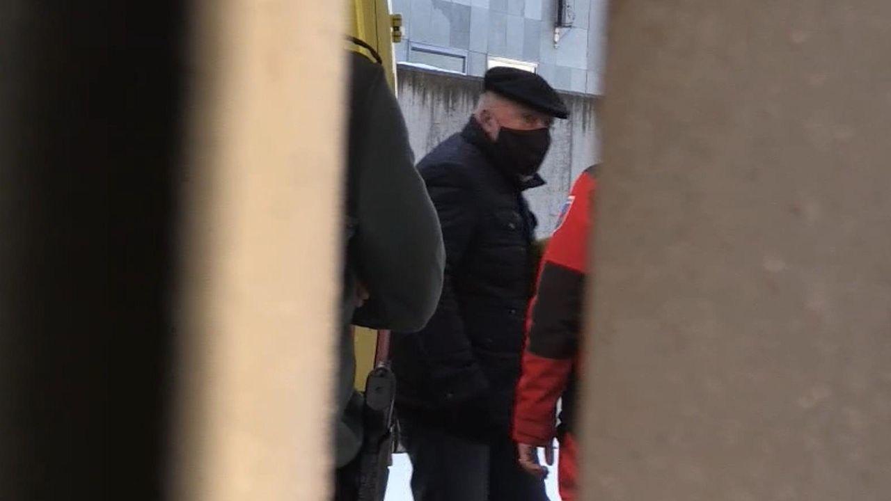 Captura de video de la llegada este viernes del excomisario José Villarejo al Juzgado de lo Penal número 8 en Madrid,