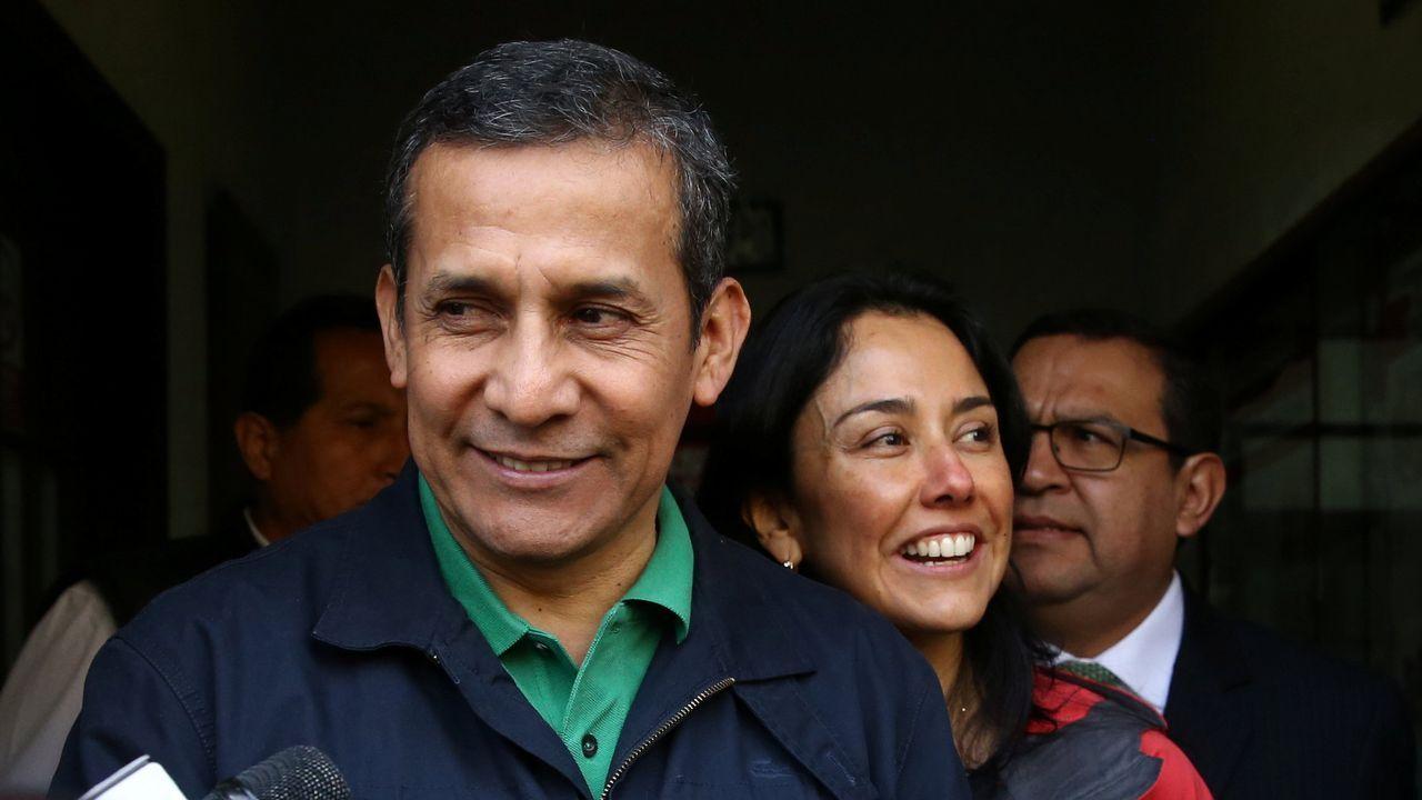 El presidente de Perú, Ollanta Humala