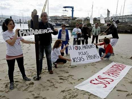 Una de las últimas protestas de SOS Panadeira.