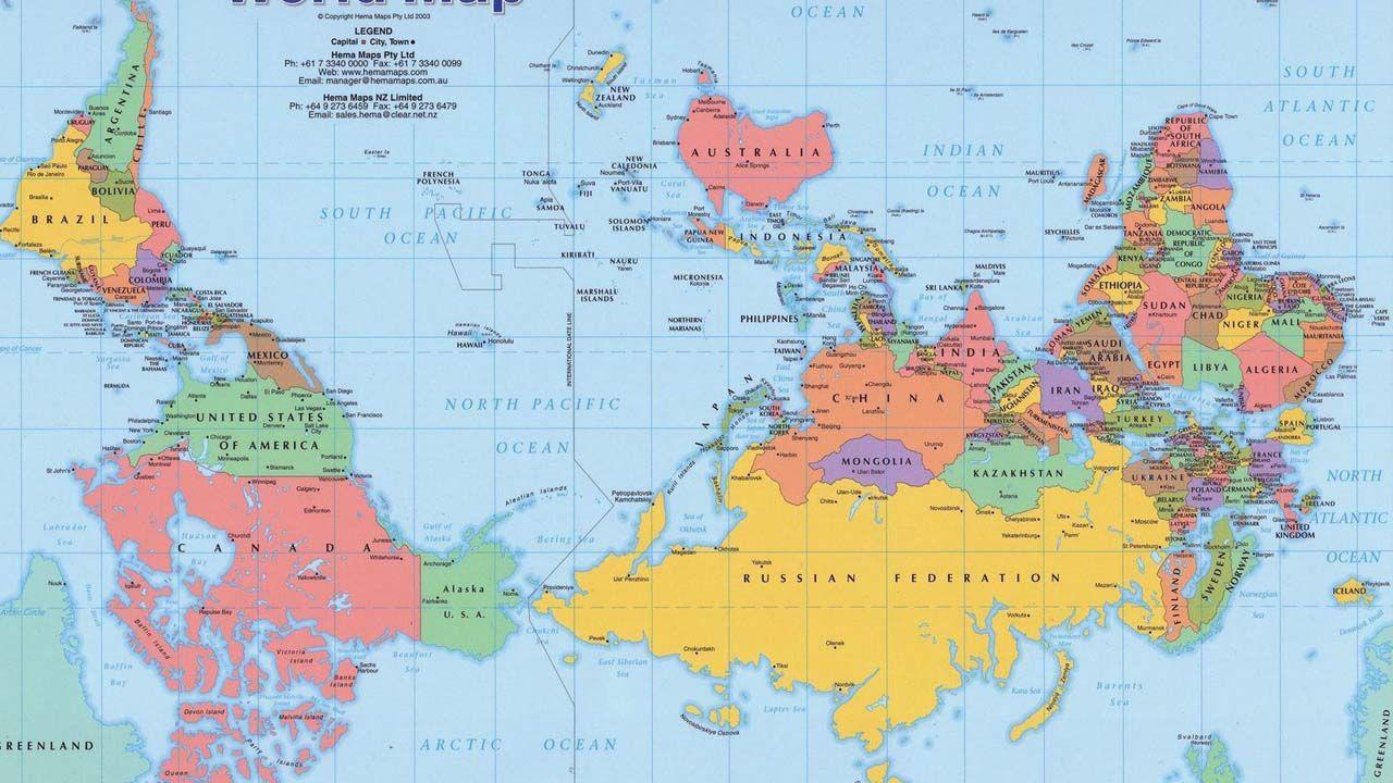 exportar.Mapa australiano