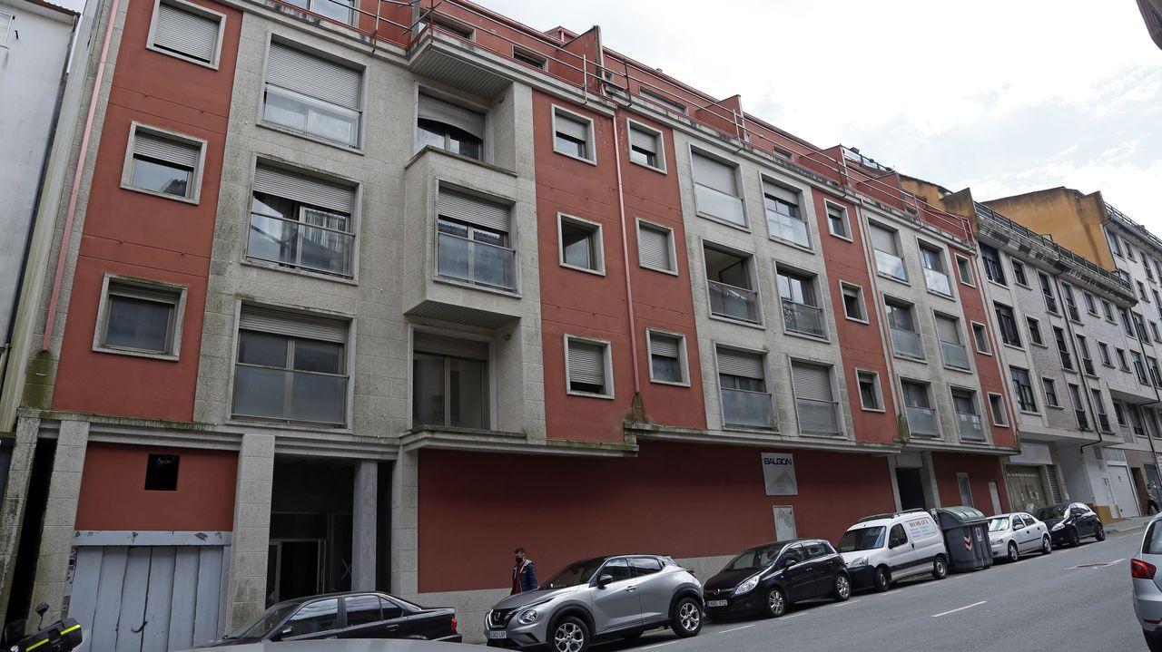 En Ribeira se subasta un edificio entero en el marco de un concurso de acreedores