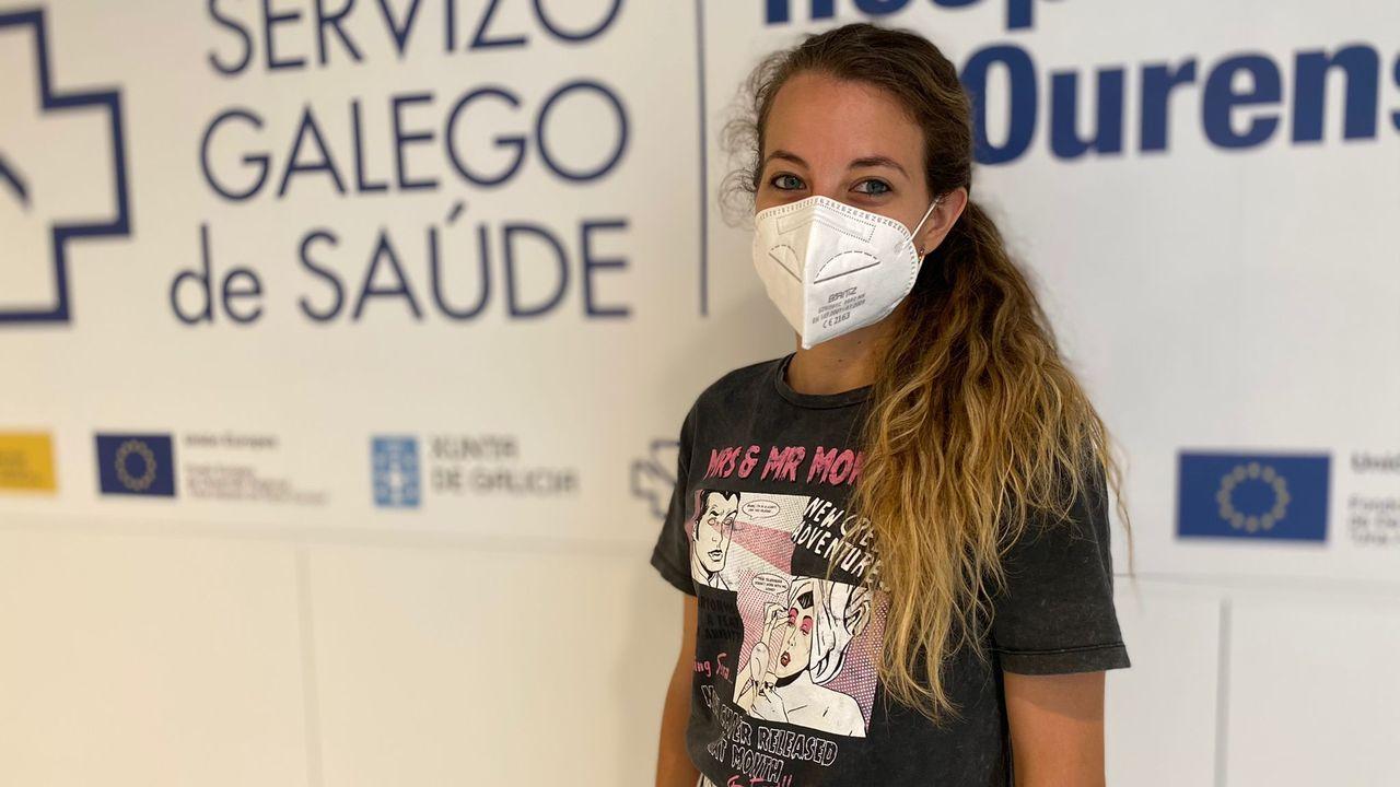 Así es el hotel más alto de Galicia.María Martínez es residente en Medicina Interna en el CHUO