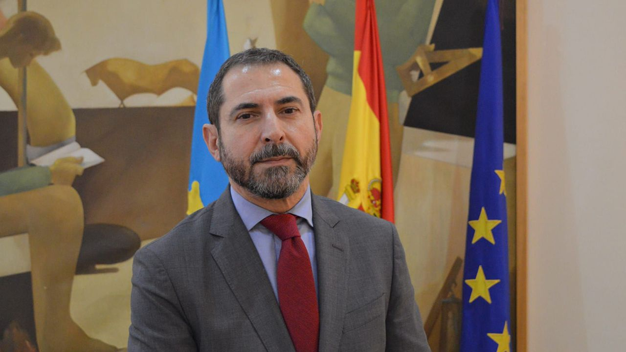 Vicente Paredes, director en Asturias de la Tesorería General de la Seguridad SOcial