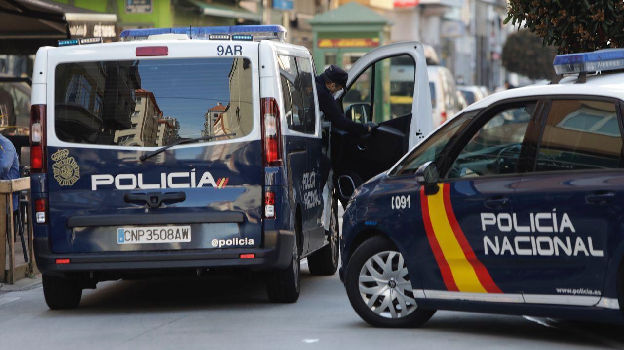 Operativo policial en la calle de la Torre
