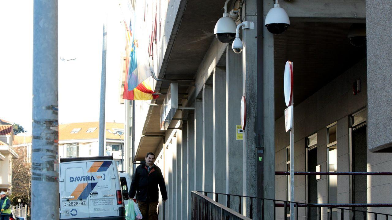 Fachada del edificio del Consello de Contas de Galicia
