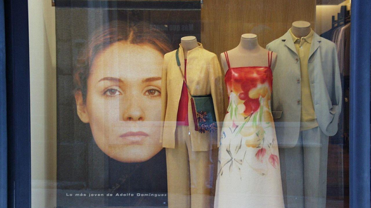 Mercados.Tienda de Zara en Milán