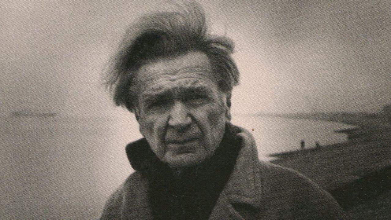 Emil Cioran (Rasinari, 1911-París, 1995), retratado por Irmeli Jung