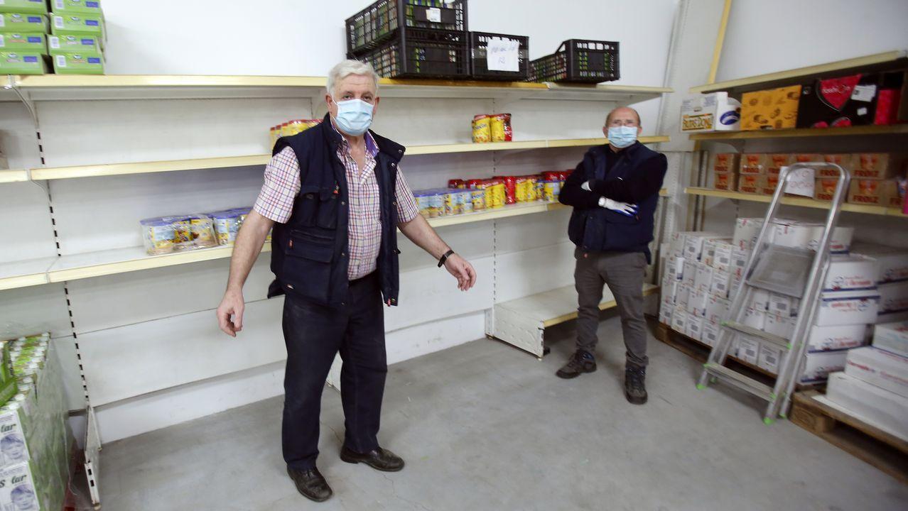 Banco de Alimentos de Pontevedra, prácticamente desabastecido