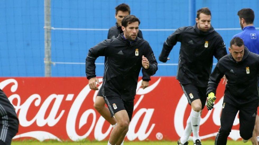 David Fernández durante una sesión de entrenamiento