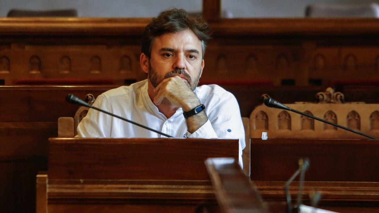 El diputado de Ciudadanos Luis Fanjul