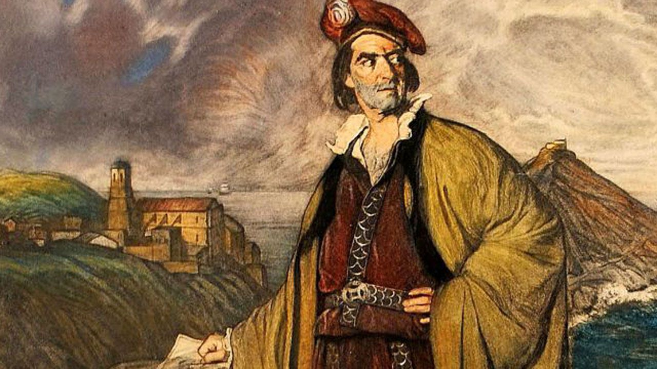 Concurso de tortillas en el IES de Hosteleria de Foz.Juan Sebastián Elcano, según Zuloaga