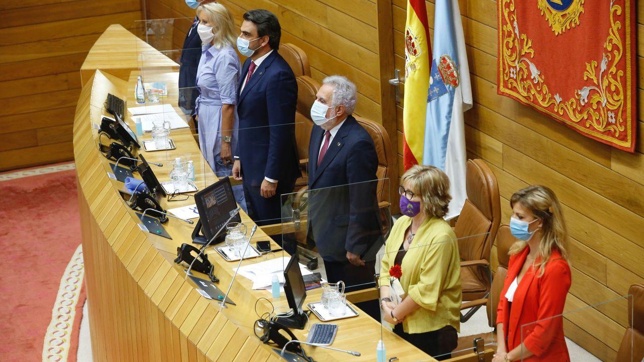 Así arrancó la undécima legislaturagallega.Diego Calvo