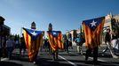Manifestación por la independencia de Cataluña en junio del 2021