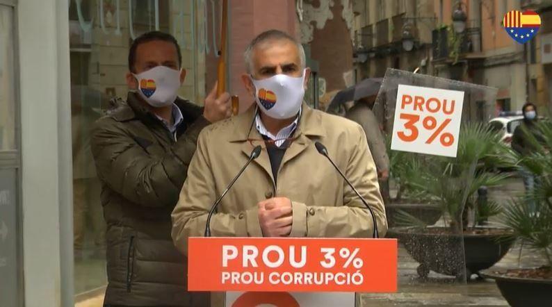 Carlos Carrizosa, candidato de Ciudadanos a la Generalitat