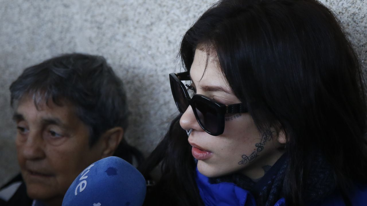 Valeria Quer durante la tercera jornada del juicio por el crimen de su hermana Diana