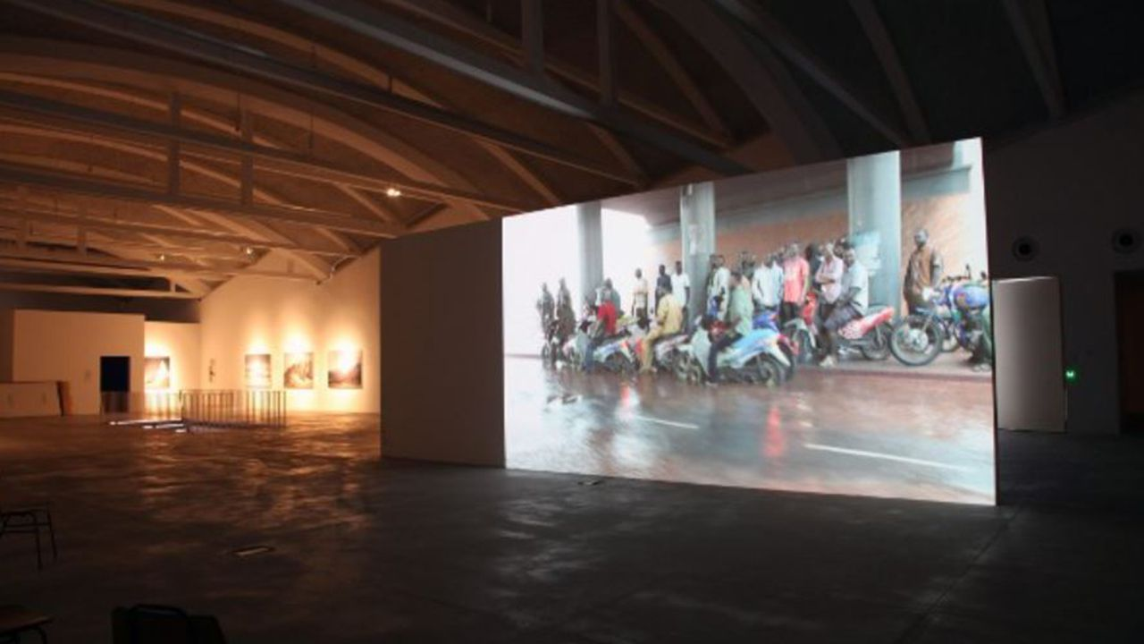 Hospital Valle del Nalón.Exposición en LABoral Centro de Arte y Creación Industrial