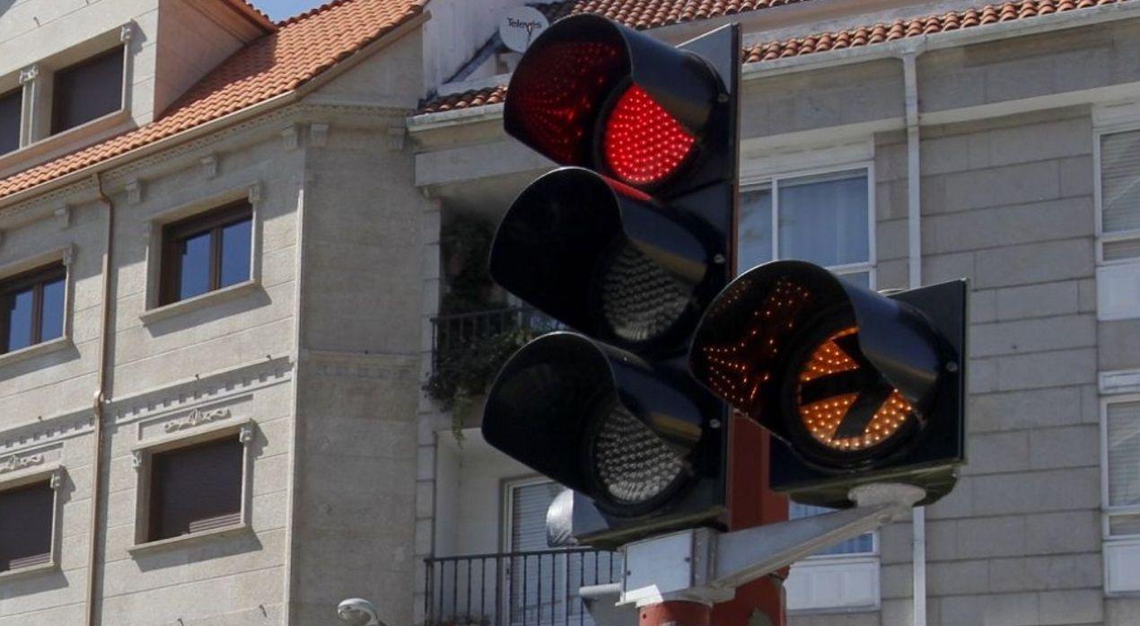 Accidente vía rápida Salnés. Corvillón