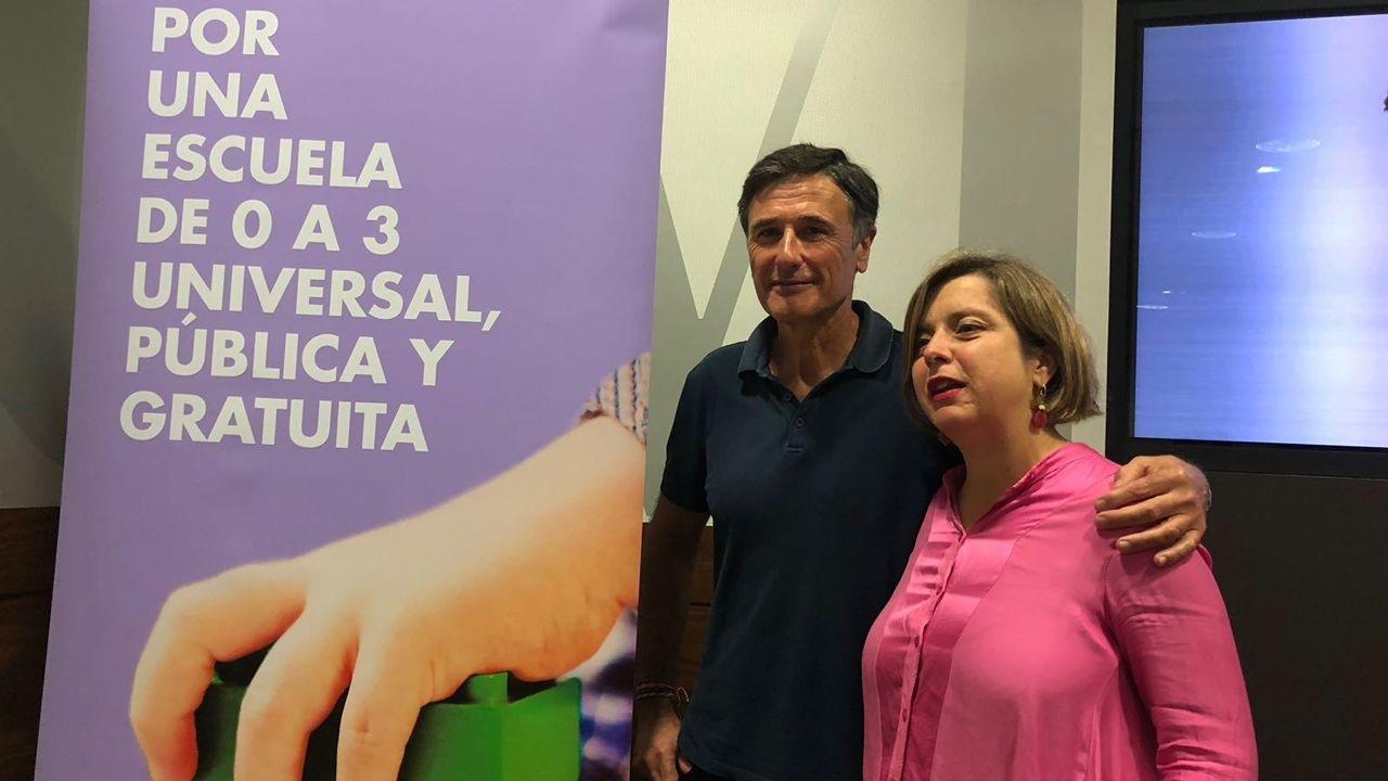 Ënrique López y Ana Taboada
