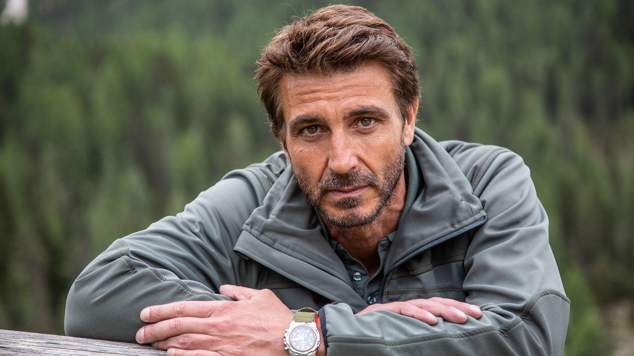El protagonista es el actor italiano Daniele Liotti