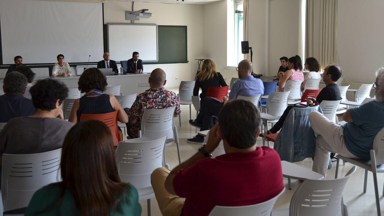 Laboratorio de la Facultad de Ciencias de Lugo