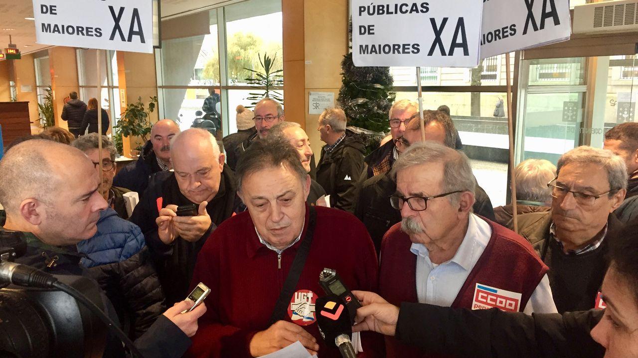 Pensionistas de UGT y Comisiones piden más residencias públicas