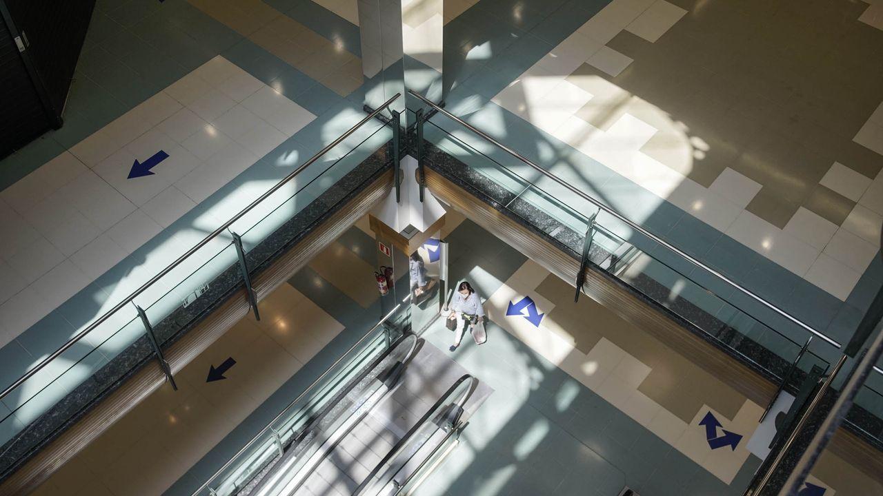 Así es en vista aérea el nuevo enlace del poligono de San Cibrao con la A-52.Feijoo, en la inauguracion del enlace de la A-52 con el polígono de San Cibrao das Viñas