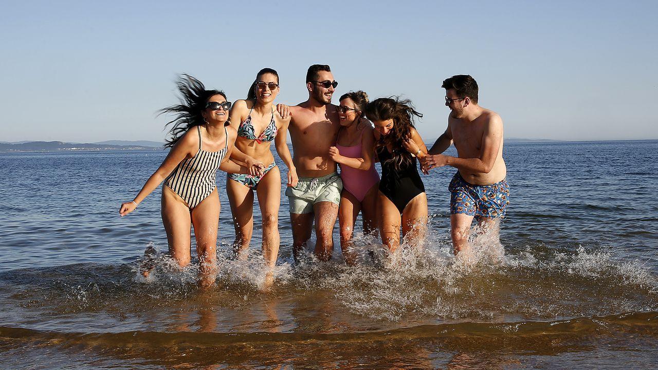 Playa de Coroso, Ribeira
