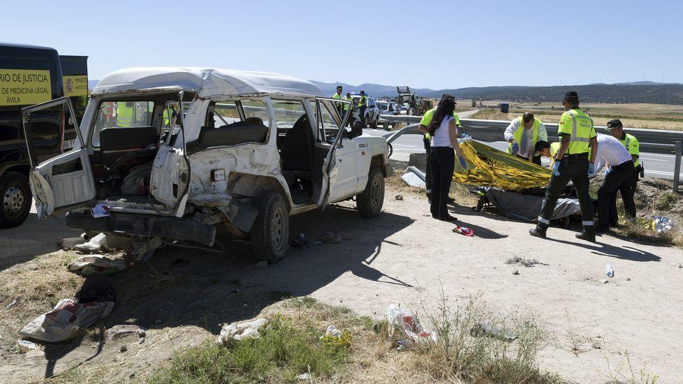 Rescatado el cadáver de una joven senderista en Gredos
