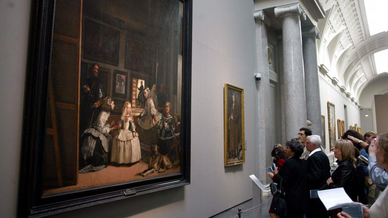 El último adiós a Rubalcaba, en imágenes.El cuadro «Las meninas», de Velázquez, es uno de los iconos del Museo del Prado