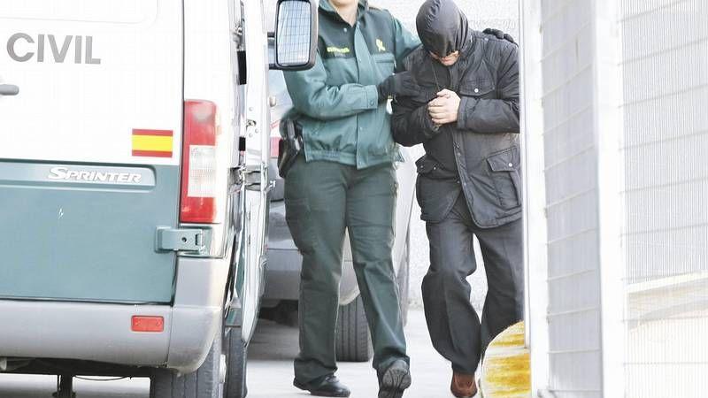 Declaraciones en los juzgados de Lugo de los detenidos en la operación Manga